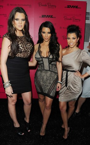 Khloe Kardashian Odom, Kim Kardashian, Kourtney Kardashian