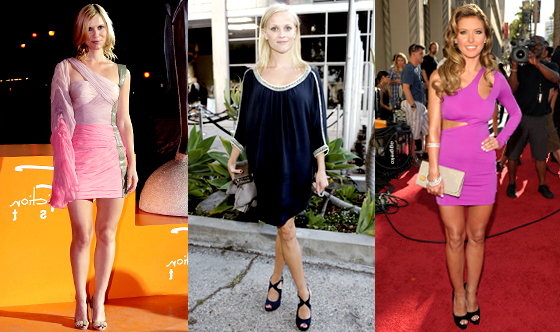 Claire Danes, Audrina Patridge, Reese Witherspoon