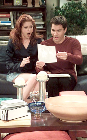 Debra Messing, Eric McCormack, Will and Grace