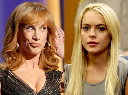 Kathy Griffin, Lindsay Lohan