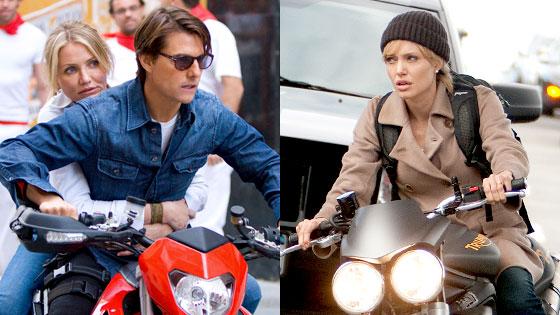 Cameron Diaz, Tom Cruise, Knight and Day, Angelina Jolie, Salt