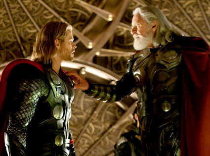 Thor, Chris Hemsworth, Anthony Hopkins