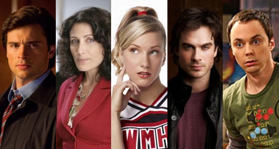 Tater Top, Ian Somerhalder, Vampire Diaries, Heather Morris, Glee, Lisa Edelstein, House, Tom Welling, Smallville, Jim Parsons, Big Bang Theory