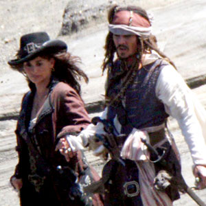 Johnny Depp, Penelope Cruz