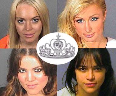 Khloé Kardashian Odom, Paris Hilton, Lindsay Lohan, Michelle Rodriguez
