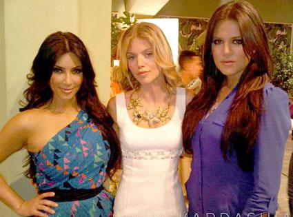Kim Kardashian, AnnaLynne McCord, Khloe Kardashian Odom, Twitter