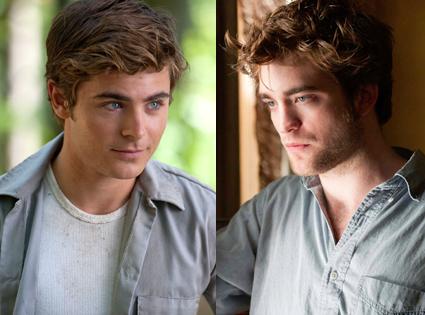 Zac Efron, Charlie St. Cloud, Robert Pattinson, Remember Me