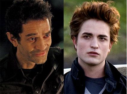Robert Pattinson, Twilight,  James Frain, True Blood