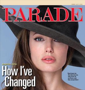 AngelinaJolie, Parade Cover
