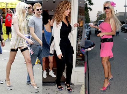 Taylor Momsen, Beyonce Knowles, Shauna Sands