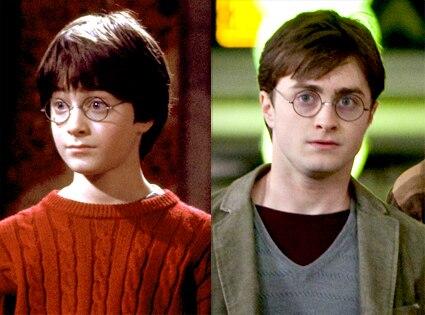 Daniel Radcliffe, Harry Potter, Sorcerer's Stone, Deathly Hallows