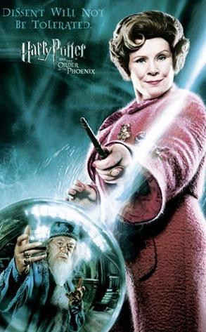 Dolores Umbridge, Harry Potter