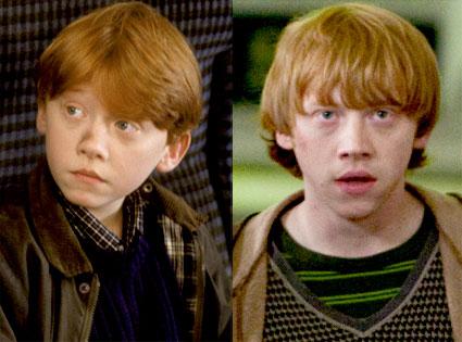 Rupert Grint, Harry Potter, Sorcerer's Stone, Deathly Hallows