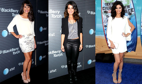 Selena Gomez, Lea Michele, Shenae Grimes