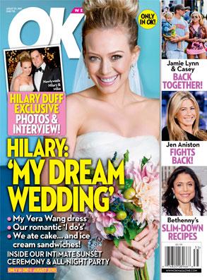 OKMagazine, Hilary Duff, Cover