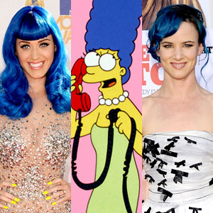 Katy Perry, Marge Simpson, Juliette Lewis