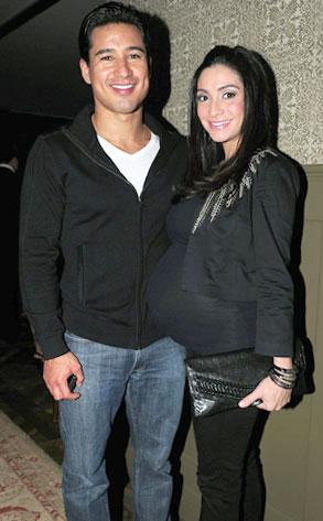 Mario Lopez, Courtney Mazza