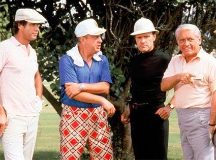 Chevy Chase, Rodney Dangerfield, Dan Resin, Ted Knight, Caddyshack