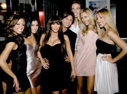 Summer, Erika, Jonathan Cheban, Simon Huck, Lauren, Katie, Spin Crowd Cast, Kim Kardashian