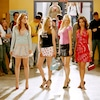 Lindsay Lohan, Amanda Seyfried, Rachel McAdams, Lacey Chabert