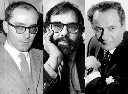 Jean-Luc Godard, Ford Coppola, Eli Wallach
