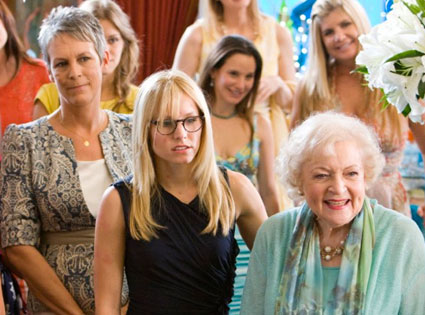Jamie Curtis, Betty White, Kristen Bell, You Again