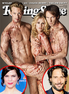 True Blood Rolling Stone, Mariana Klaveno, Joe Manganiello