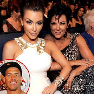 Kim Kardashian, Kris Jenner, Miles Austin