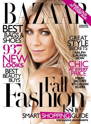 Harper's Bazaar, Jennifer Aniston