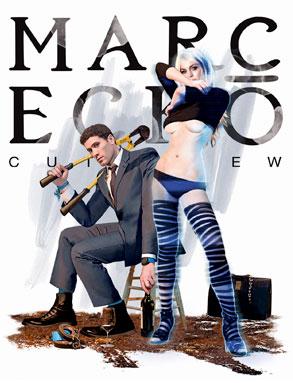 Lindsay Lohan, Marc Ecko Campaign