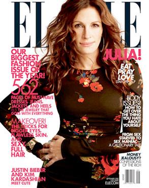 Julia Roberts, ELLE Cover