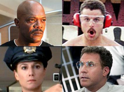 Will Ferrel, The Other Guys, Kevin Heffernan, Supertroopers, Holly Hunter, Raising Arizona, Samuel L. Jackson, Snakes on a Plane