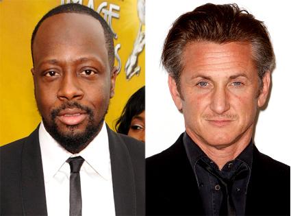 Wyclef Jean, Sean Penn