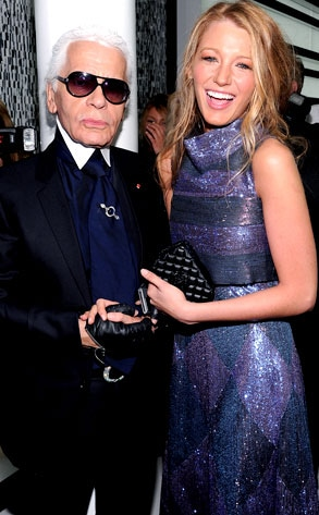 Karl Lagerfeld, Blake Lively
