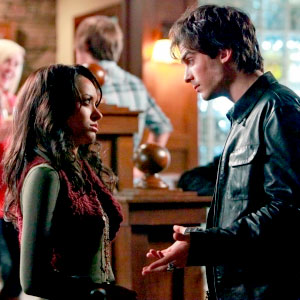 The Vampire Diaries, Katerina Graham, Ian Somerhalder