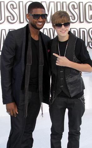 Usher, Justin Bieber