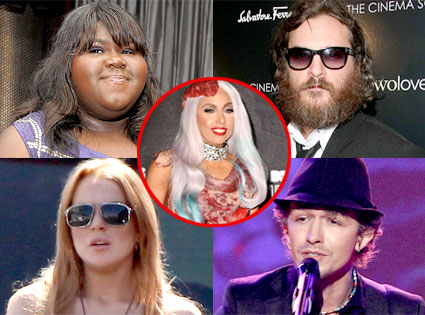 Week in Review, Gabourey Sidibe, Joaquin Phoenix, Lindsay Lohan, Michael Grimm, Lady Gaga