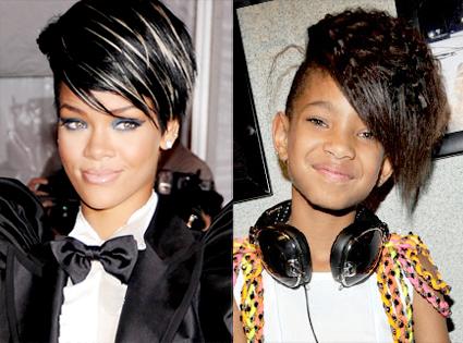 Rihanna, Willow Smith