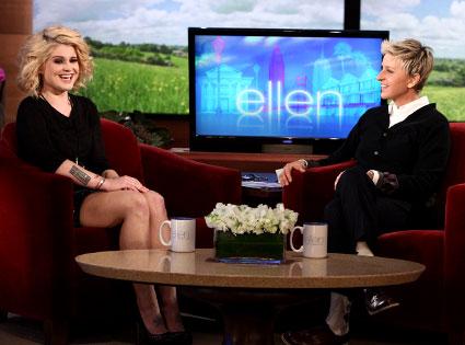 KELLY OSBOURNBE, Ellen DeGeneres