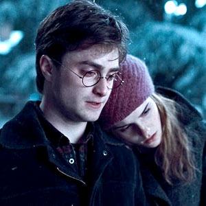 Daniel Radcliffe, Emmy Watson, Harry Potter and The Deathly Hallows