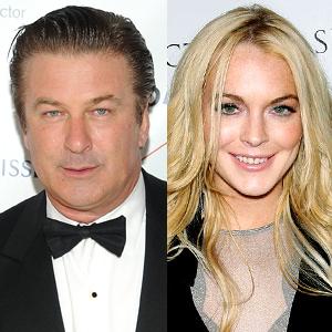 Alec Baldwin, Lindsay Lohan