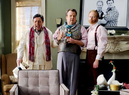 Nathan Lane, Eric Stonestreet, Jesse Tyler Ferguson, Modern Family