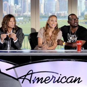 Steven Tyler, Jennifer Lopez, Randy Jackson, America Idol Press Conference