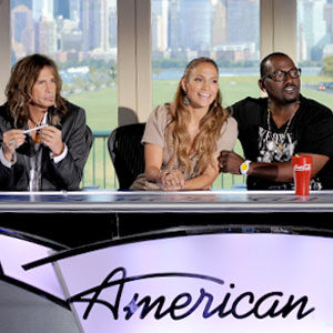 Steven Tyler, Jennifer Lopez, Randy Jackson, America Idol Press Conference