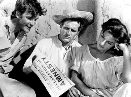 Paul Newman, Lita Milan, The Left Handed Gun