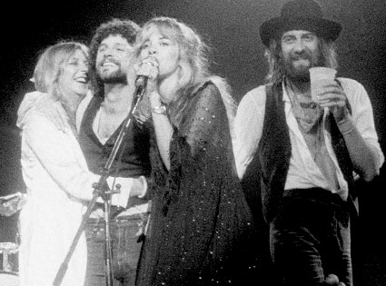 Lindsay Buckingham, Stevie Nicks, Mick Fleetwood, Fleetwood Mac