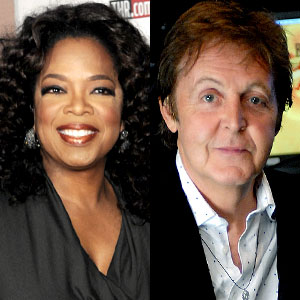 Oprah Winfrey, Sir Paul McCartney