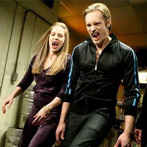 True Blood, Kristin Bauer, Alexander Skarsgard