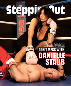 Danielle Staub,Steppin Out COVER
