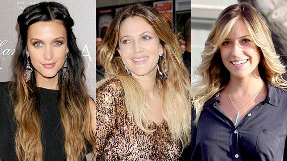 Ashlee Simpson Wentz, Drew Barrymore, Kristin Cavallari